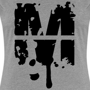 M graffiti stamp drops T-Shirts - Women's Premium T-Shirt