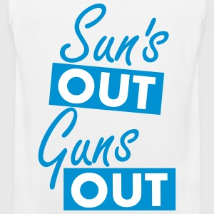 Sun´s out guns out Tanktops - Mannen Premium tank top