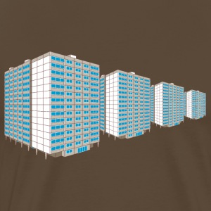 High-rise housing estate East T-Shirts - Men's Premium T-Shirt