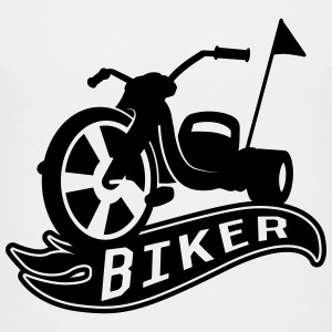 Biker Chopper T-shirts - Teenager premium T-shirt