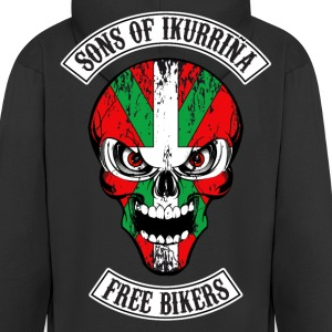 sons of ikurrina 02 Sweat-shirts - Veste à capuche Premium Homme