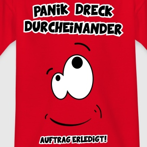 panic dirty mess children chaos Skjorter - T-skjorte for barn