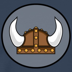 Viking helmet in the district T-Shirts - Men's Premium T-Shirt