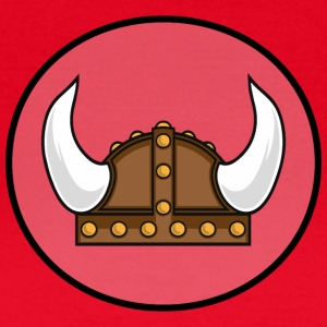 Viking helmet in the district T-shirts - Vrouwen T-shirt
