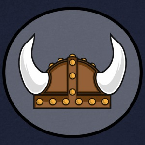Viking helmet in the district T-Shirts - Männer T-Shirt mit V-Ausschnitt