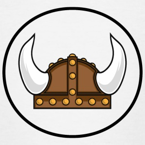 Viking helmet in the district Camisetas - Camiseta adolescente