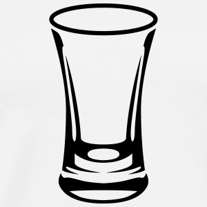 Shot Glass Tee shirts - T-shirt Premium Homme