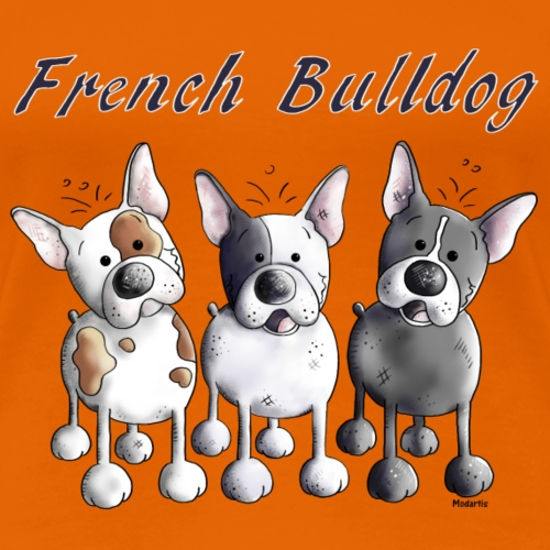 Französische Bulldoggen Trio - Hund