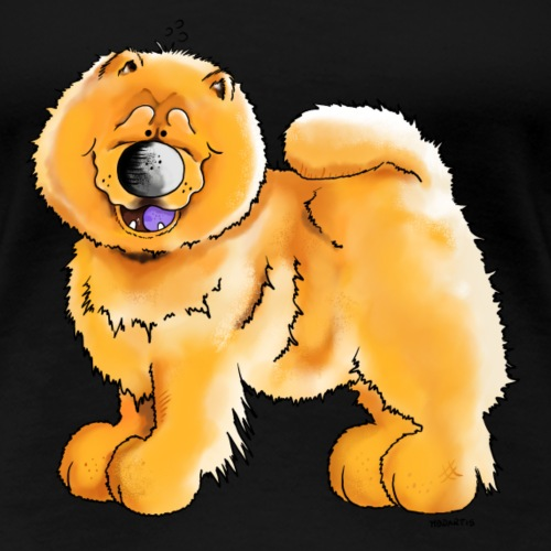 Chow Chow - Hund - Cartoon