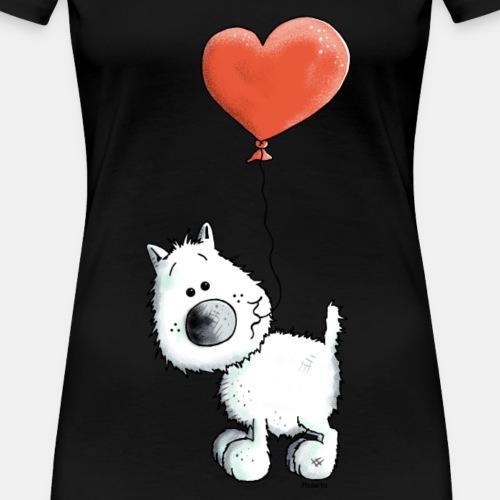 Westie Mit Herz - Hund