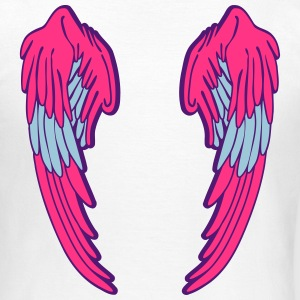 Angel Wings Feather Magliette - Maglietta da donna