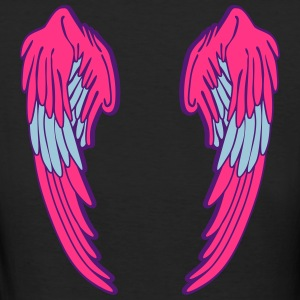 Angel Wings Feather T-shirts - Organic damer