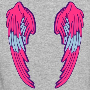 Angel Wings Feather Tee shirts - T-shirt Bio Femme