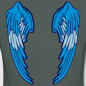 Angel Wings Feather T-Shirts - Frauen Bio-T-Shirt