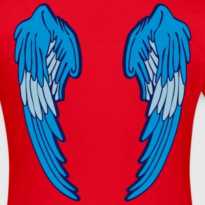Angel Wings Feather T-shirts - Dame-T-shirt