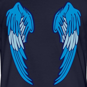 Angel Wings Feather T-Shirts - Men's Organic T-shirt