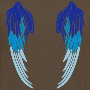 Angel Wings Feather T-Shirts - Men's Premium T-Shirt