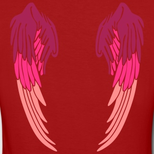 Angel Wings Feather T-shirts - Ekologisk T-shirt dam