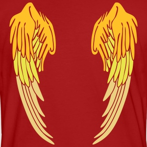 Angel Wings Feather T-shirts - Ekologisk T-shirt herr