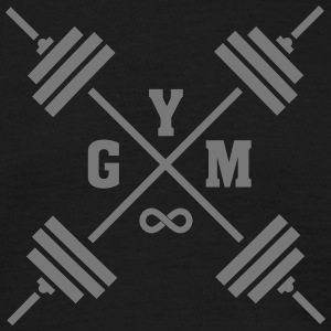 Gym Cross (Infinity Symbol) T-Shirts - Men's T-Shirt