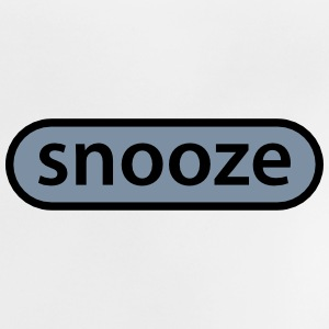 snooze button Tee shirts - T-shirt Bébé