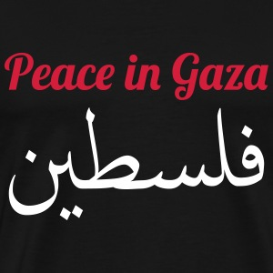 Peace in Gaza T-shirts - Mannen Premium T-shirt