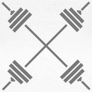 Weights Cross T-Shirts - Women's T-Shirt