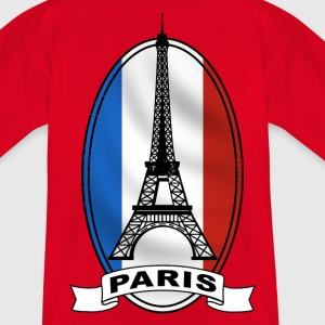 paris france Tee shirts - T-shirt Ado