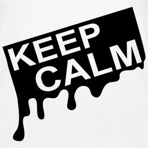 keep_calm_graffiti_kg1 Topper - Premium singlet for kvinner