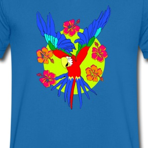 parrot T-Shirts - Men's V-Neck T-Shirt
