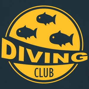 Diving Club - Tauchclub T-Shirts - Männer T-Shirt