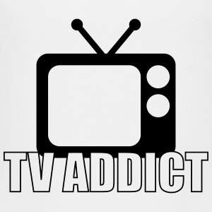 TV Addict T-shirts - Teenager premium T-shirt