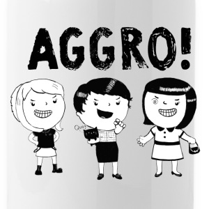AGGRO Girls don't fear! Mugs & Drinkware - Water Bottle