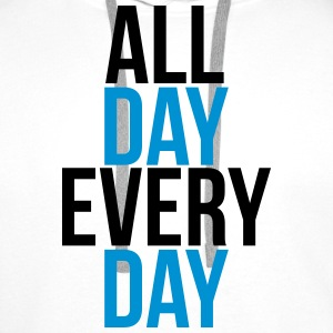 all day every day Gensere - Premium hettegenser for menn