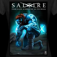 Design ~ Saltire Ionnsaigh Gaelic Tshirt Women
