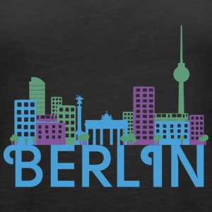 Skyline Berlin Tops - Frauen Premium Tank Top