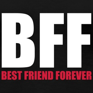 Best Friend Forever T-shirts - Dame premium T-shirt