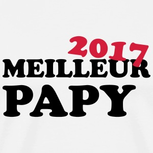 Meilleur Papy 2017 Tee shirts - T-shirt Premium Homme