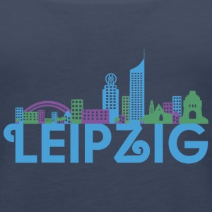 Leipzig skyline Tops - Women's Premium Tank Top