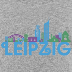 Skyline van Leipzig Shirts - Teenager Premium T-shirt