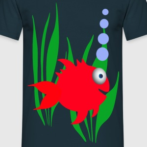 poisson rouge Tee shirts - T-shirt Homme