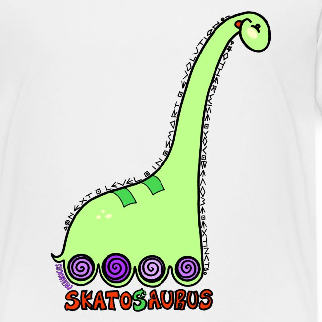 Camiseta niño Skatosaurus