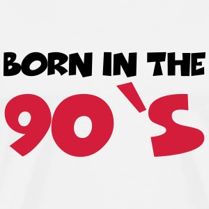 Born in the 90's T-shirts - Premium-T-shirt herr
