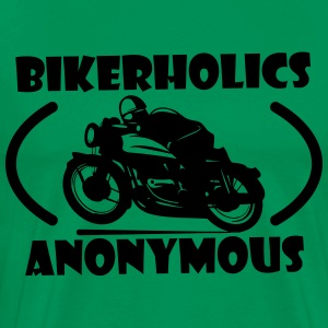 Bikerholics Anonymous T-Shirts - Men's Premium T-Shirt