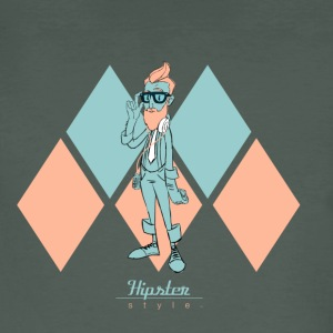 Hipster Style - Camiseta ecológica hombre