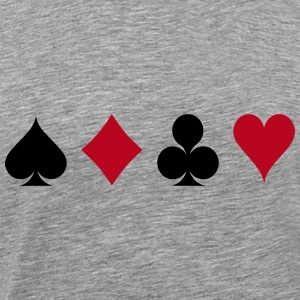 Card Game - Kaartspel T-shirts - Mannen Premium T-shirt