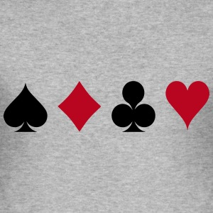 Card Game - Kaartspel T-shirts - slim fit T-shirt