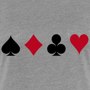 Card Game - Playind Card T-Shirts - Women's Premium T-Shirt