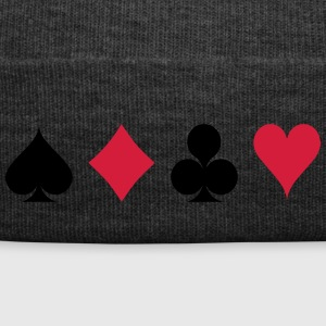 Card Game - Playind Card Cappelli & Berretti - Cappellino invernale
