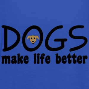 Dogs Tops - Women's Tank Top by Bella
